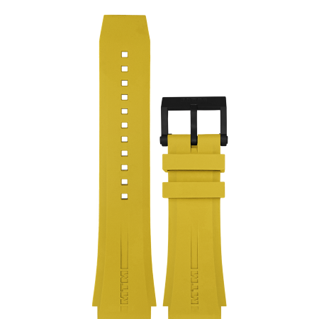 Yellow Rubber Strap Style 3