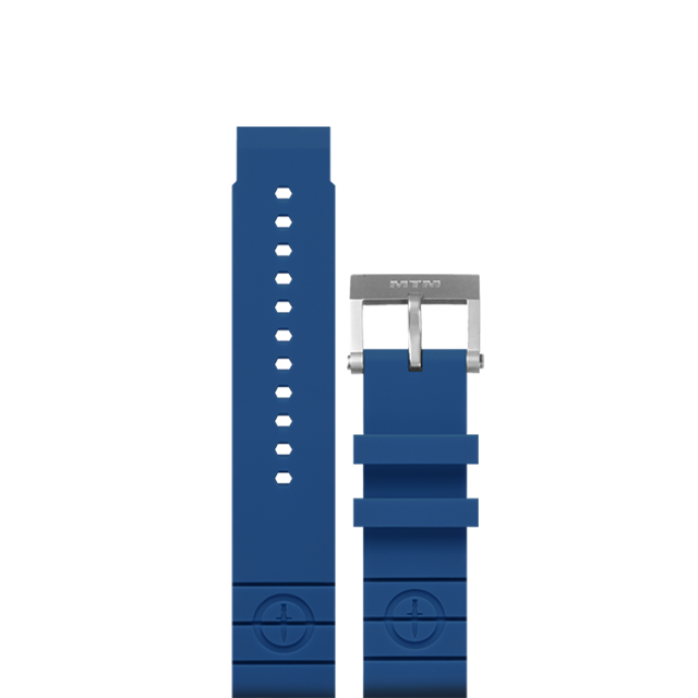 BLUE Rubber Strap II