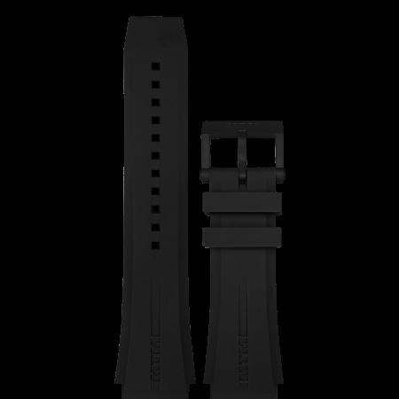 Black Rubber Strap Style 3