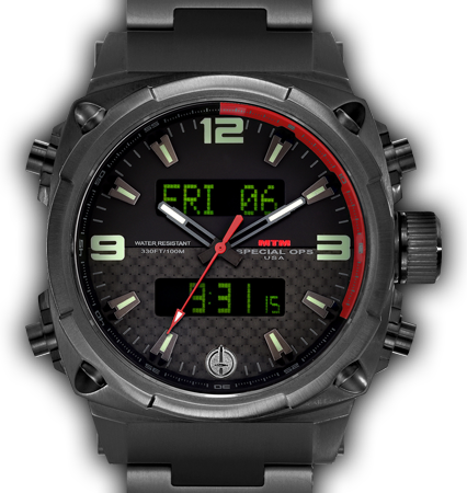 Air Stryk II Black - Carbon Red - Tit Band