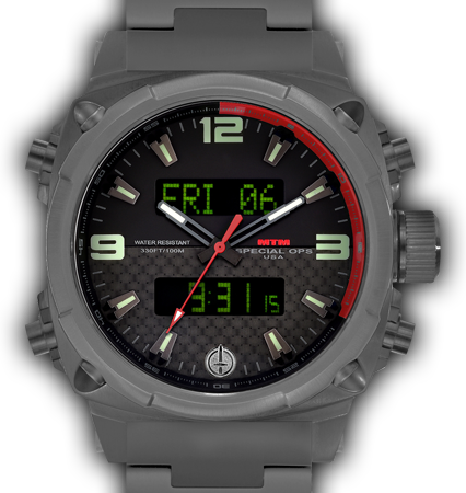 Air Stryk II Grey - Carbon Red - Tit Band