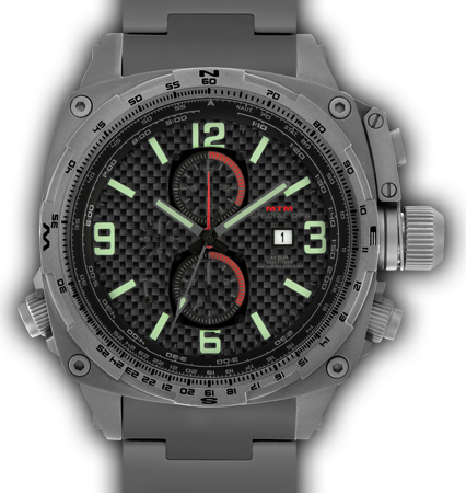 Cobra Grey - Carbon Lumi Dial - Tit Band