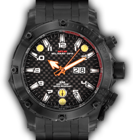 Vulture Black Carbon Dial - Tit Band