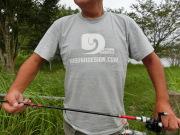 霞DオリジナルロゴTシャツ3  ライトグレー