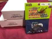 ノンスタックJIG-2.7g ♯03 ブラウン&パープル(12個入りバリューパック ) 超お買い得!!
