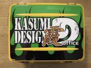 霞D-VS3080アッパーロゴシート(グリーン)