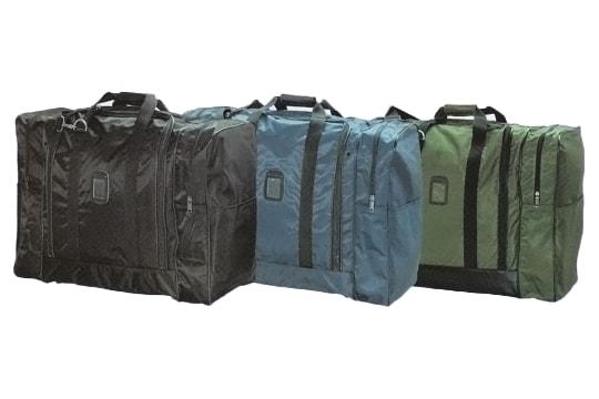 大容量の遠征用ボストンバッグ 両サイドポケット付き