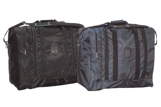 スリムな遠征用バッグ バッグサイドポケット付き