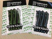 mukawa energy ステッカー