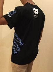 mukawa energyTシャツ サイド・ブルー