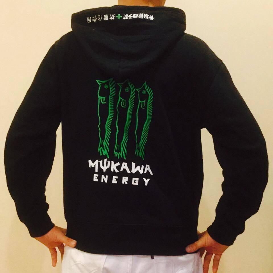 mukawa energy パーカー
