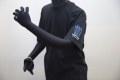 mukawa energyTシャツ(ブラック) バック・ブルー