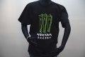 mukawa energyTシャツ(ブラック) フロント・グリーン newタグ付き