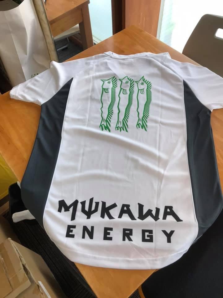 mukawa energy スポーツシャツ