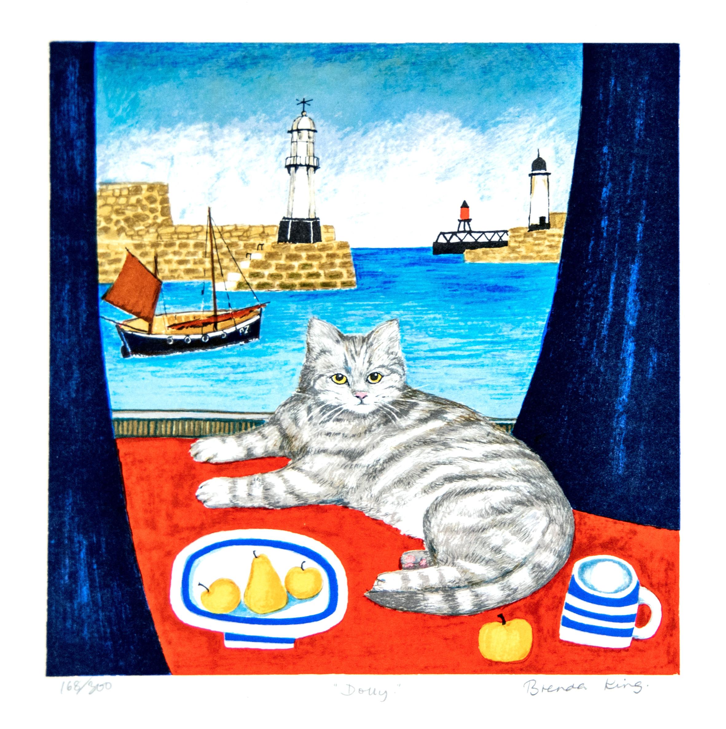 窓辺の猫8
