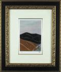 東山魁夷 「季の詩 十二月」 1954年 卒寿記念 リトグラフ 額寸・476×566mm