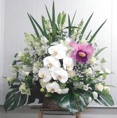 【送料無料】枕花(お悔みの花・お供え・法事・ご命日に)