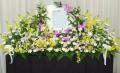【送料無料】お別れ会・家族葬に!仏テーブル花