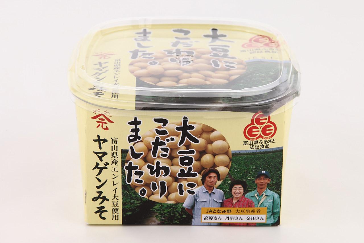 Eマーク富山県産えんれい大豆仕込み味噌 750g