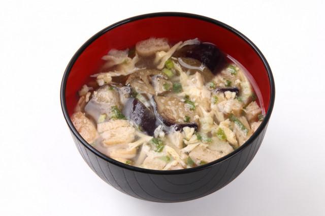 茄子スープ