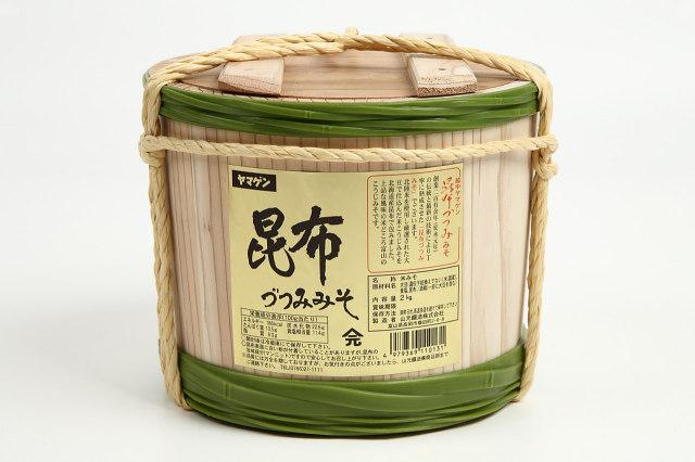 木桶昆布つつみ桶