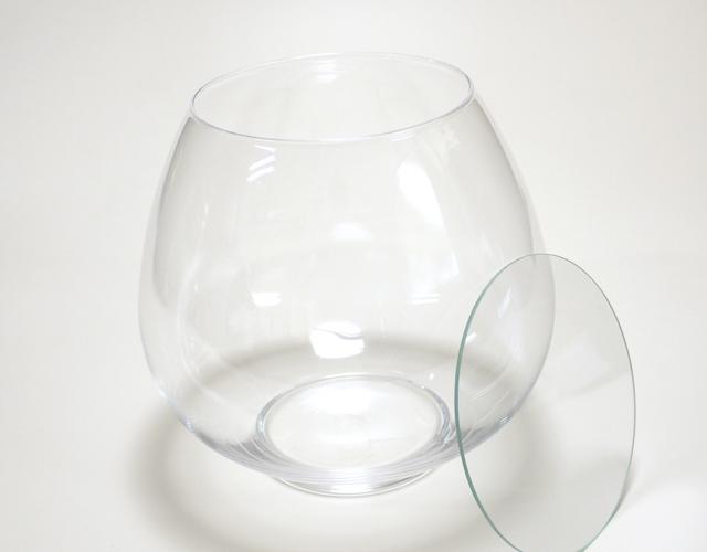ボトルフラワー用ガラス容器 ボールM B-02