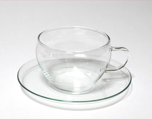 ボトルフラワーガラス容器キット ティカップソーサ
