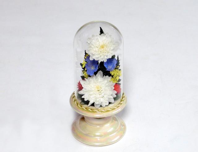 ボトルフラワー菊の花 仏花ドームS 御供えギフト