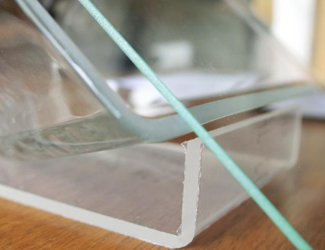 ボトルフラワー容器・スクエア容器タイプ用フタ四角ガラス(板ガラス)