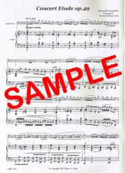 Concert Etude op.49 (A.Goedicke) - コンサート・エチュード op.49 (A.ゲディケ)