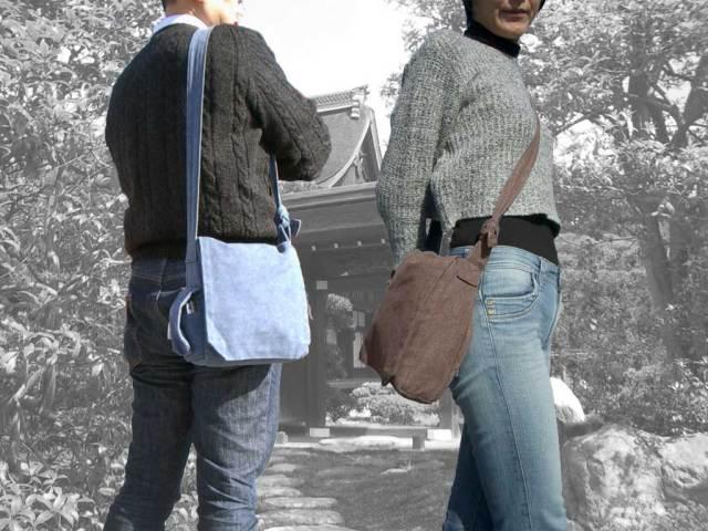 携帯ポケット付き頭陀袋(小)イメージ