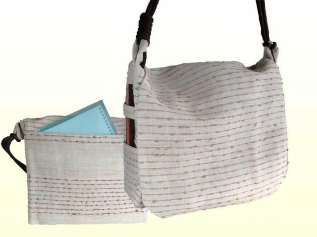 網織生平頭陀袋(あみおりきびらずだぶくろ)