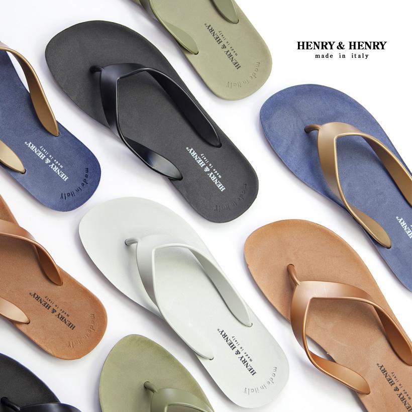 HENRY&HENRY ヘンリー&ヘンリー FLIPPER フリッパー サンダル ビーチサンダル トング メンズ