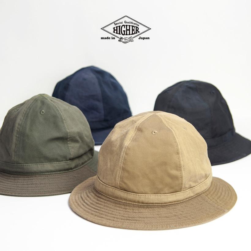HIGHER ハイヤー マルチ6パネルハット 帽子 マウンテンハット 日本製 メンズ レディース ユニセックス