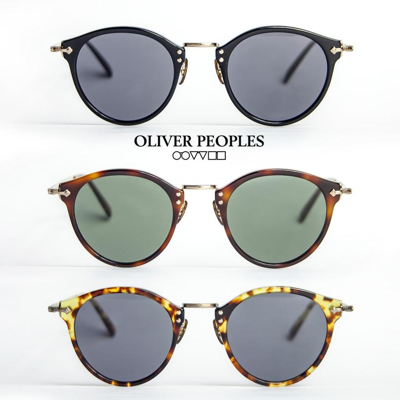OLIVER PEOPLES オリバーピープルズ 505 SUN ボストン サングラス 4カーブ メンズ レディース