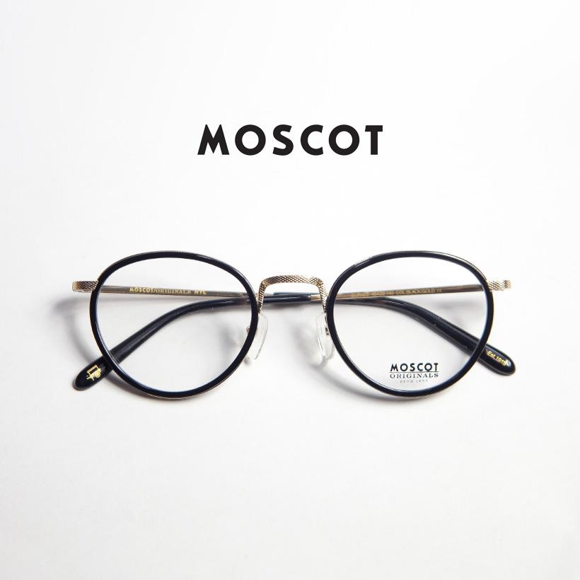 MOSCOT モスコット BUPKES 48サイズ ボストンフレーム メガネ 伊達 度付き