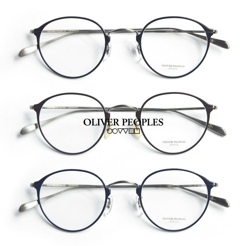 OLIVER PEOPLES/オリバーピープルズ/DAWSON/フルチタンボストンメガネ/度付き/伊達メガネ