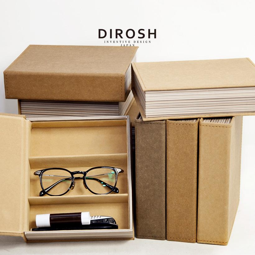 DIROSH メガネ コレクション ケース メガネケース 3本収納 小物入れ 収納 ディロッシュ