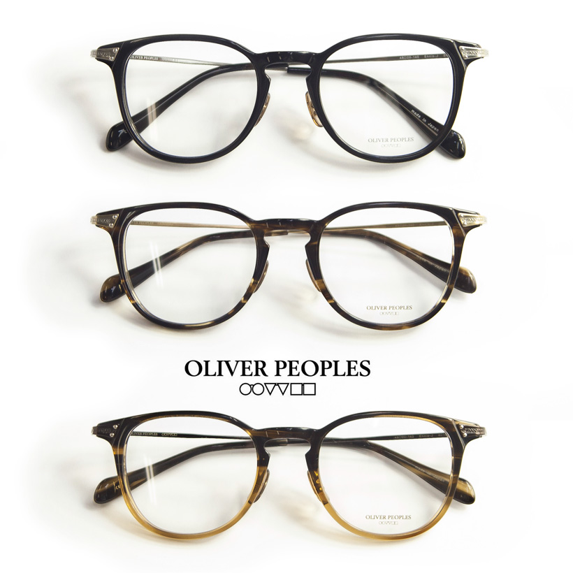 OLIVER PEOPLES/オリバーピープルズ /ENNIS-J/ボストンウェリントンメガネ/度付きメガネ/伊達メガネ
