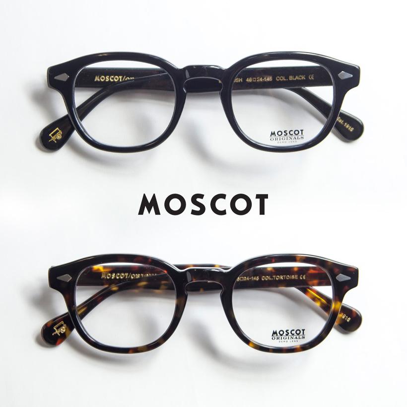 MOSCOT モスコット LEMTOSH 46サイズ ウェリントン メガネ 伊達 度付き