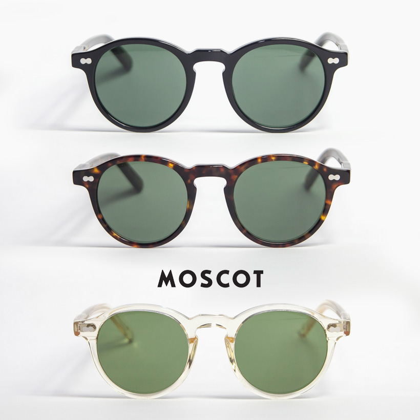 MOSCOT モスコット MILTZEN 46サイズ ボストンサングラス