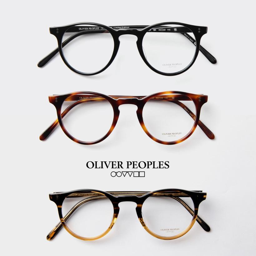 OLIVER PEOPLES オリバーピープルズ O'MALLEY-P-CF ボストンフレーム メガネ 伊達 度付き