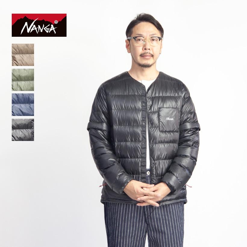 NANGA ナンガ インナーダウンカーディガン 半袖ダウン 2020秋冬 メンズ