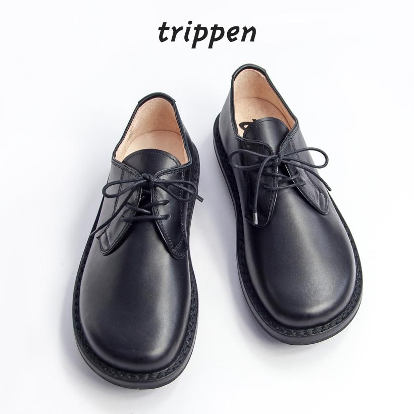 trippen トリッペン DERBY ダービー レザーシューズ メンズ