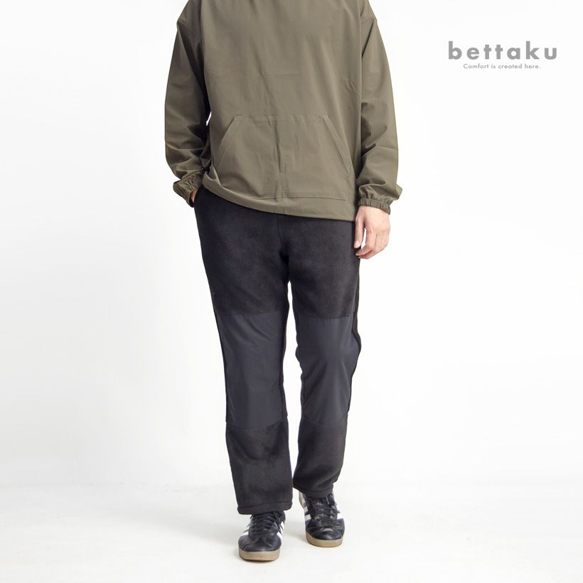 Bettaku ベッタク メルトンフリースハンティングパンツ 日本製 メンズ