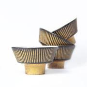 醇窯 鉄彩 茶碗 飯碗 高須 健太郎 陶器 食器 かわいい おしゃれ