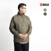 KEELA キーラ BELAY OVER THE HEAD SMOCK プリマロフト中綿 スタンドスモック プルオーバー メンズ