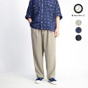 Upscape Audience オーディエンス カナパ イージーワイドパンツ 日本製 メンズ