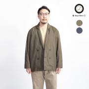 Upscape Audience グリストーンダブル コットンナイロン ダブルイージージャケット 日本製 メンズ