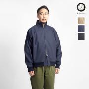 Upscape Audience オーディエンス ベンタイル ハリントンジャケット スタンドブルゾン 日本製 メンズ